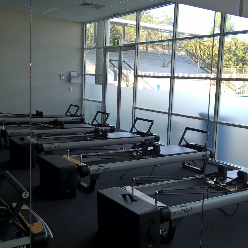 Mirror pilates studio